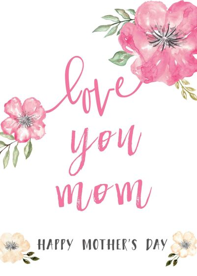 graphic relating to Happy Mothers Day Printable Cards referred to as joyful-moms-working day-messages-cost-free-printable-playing cards