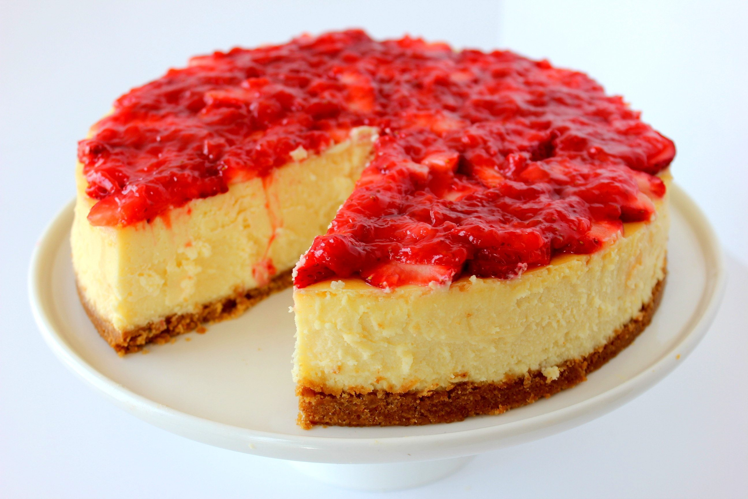 Strawberry Cheese Cake 2 Lbs