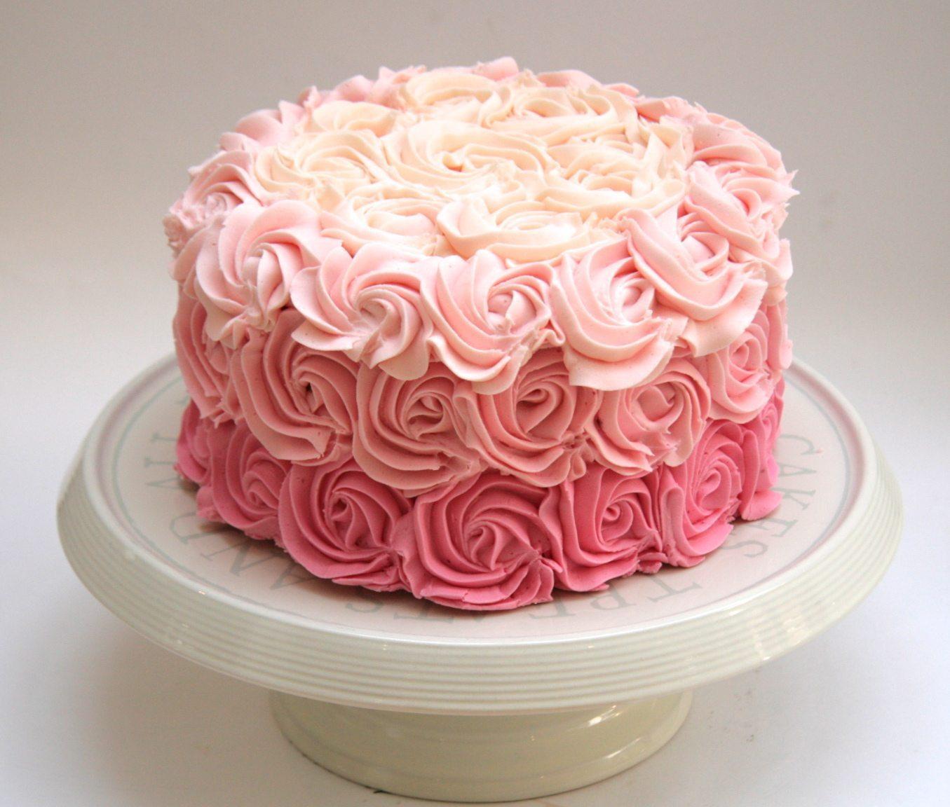 Rosette Cake 4 Lbs Send Fresh Flowers Online Flower