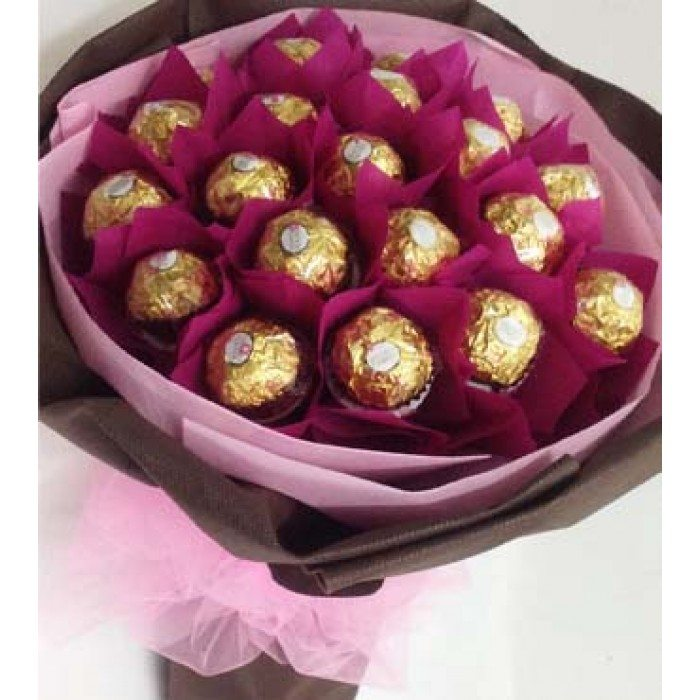 Chocolate Bouquet 2 - Send Fresh Flowers Online, Flower Delivery in ...
