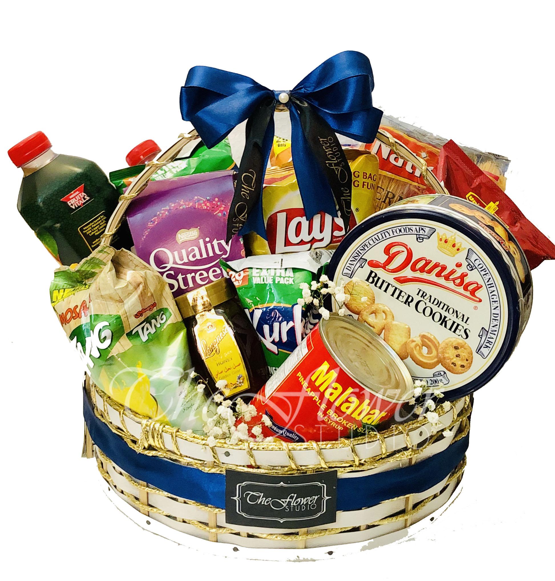 Gourmet Basket | Gift Baskets & Hampers | The Flower Studio